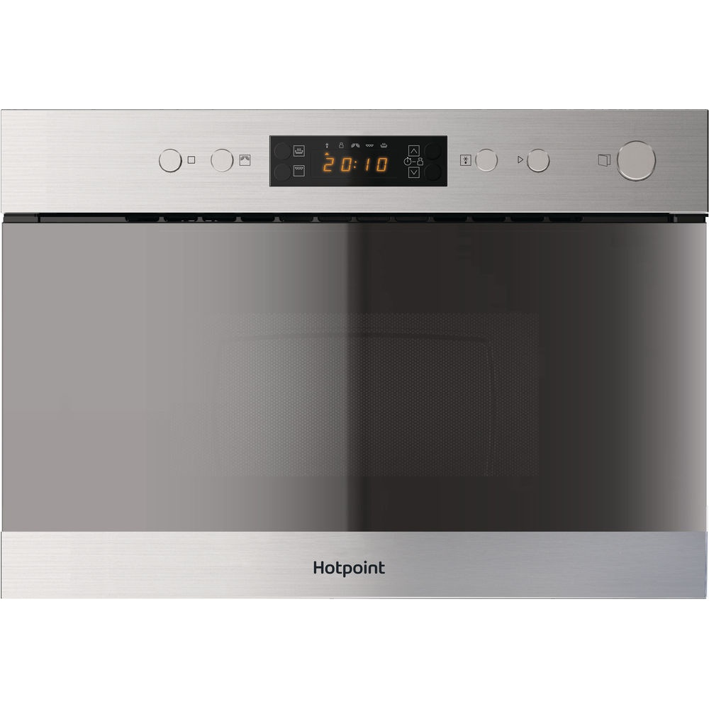 Hotpoint MN314IXH Built In Microwave with Grill