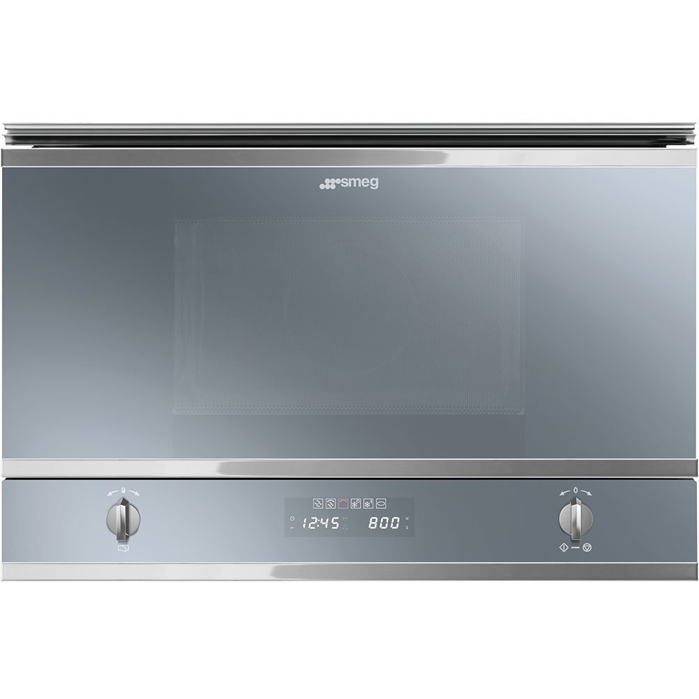Smeg Cucina MP422S Built In Microwave with Grill
