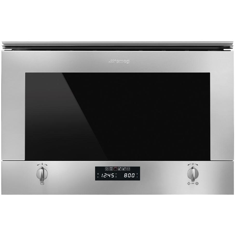 Smeg Cucina MP422X1 Built In Microwave with Grill