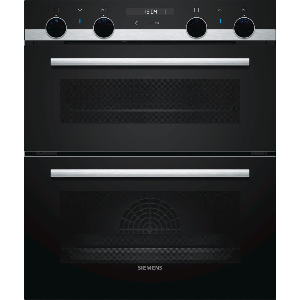 Siemens iQ500 NB535ABS0B Double Built Under Electric Oven