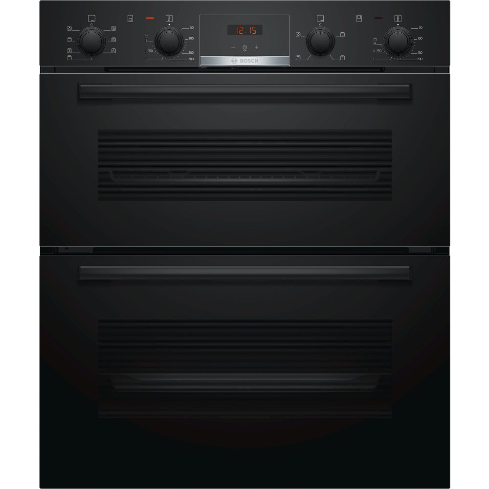 Bosch Serie 4 NBS533BB0B Double Built Under Electric Oven