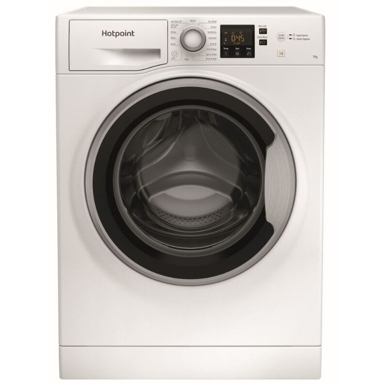 Hotpoint NSWE 742U WS UK N Washing Machine