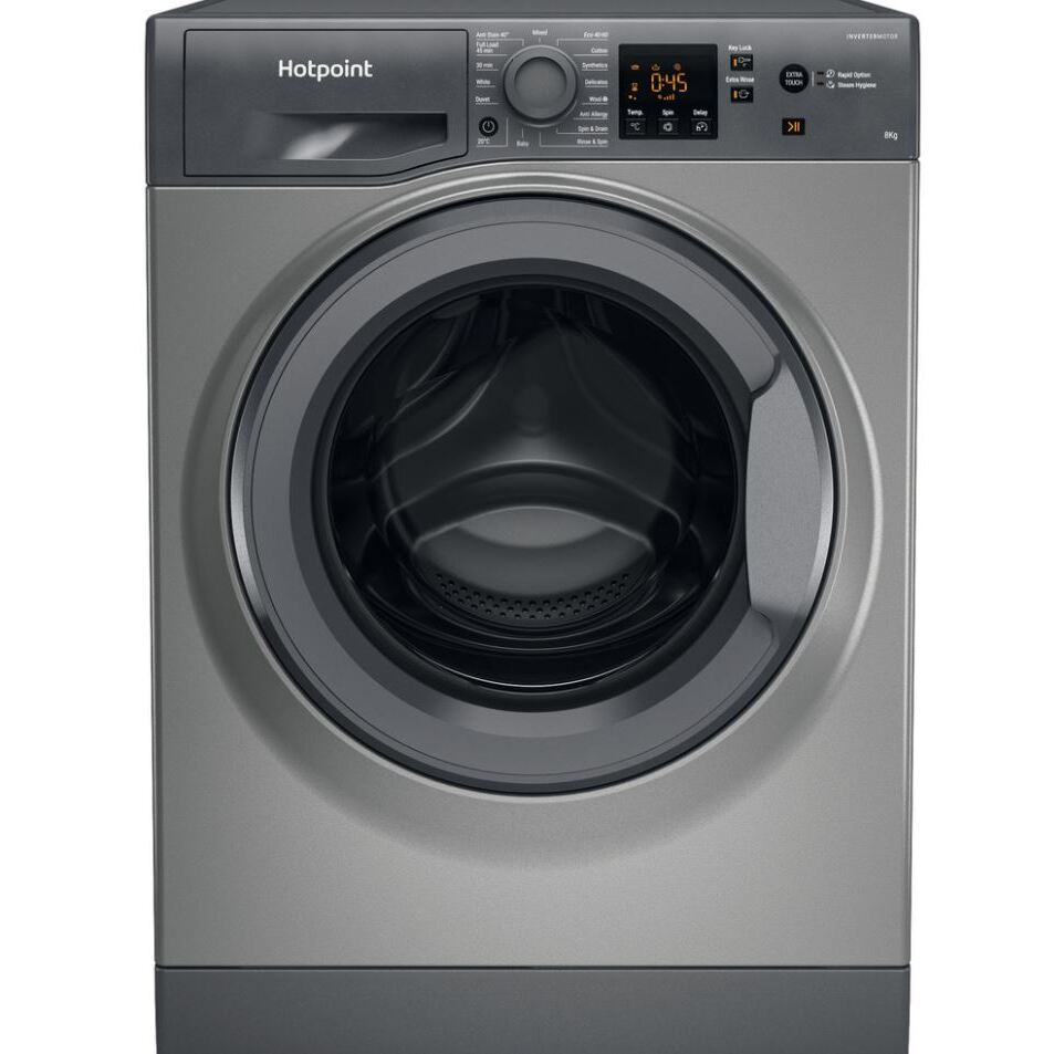 Hotpoint NSWM863CGGUKN Washing Machine