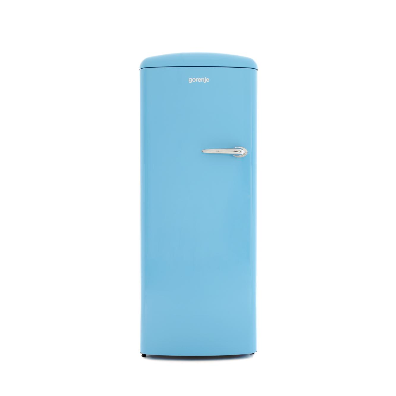 buy gorenje orb153bll retro tall fridge with ice box orb153bl l baby blue marks electrical. Black Bedroom Furniture Sets. Home Design Ideas