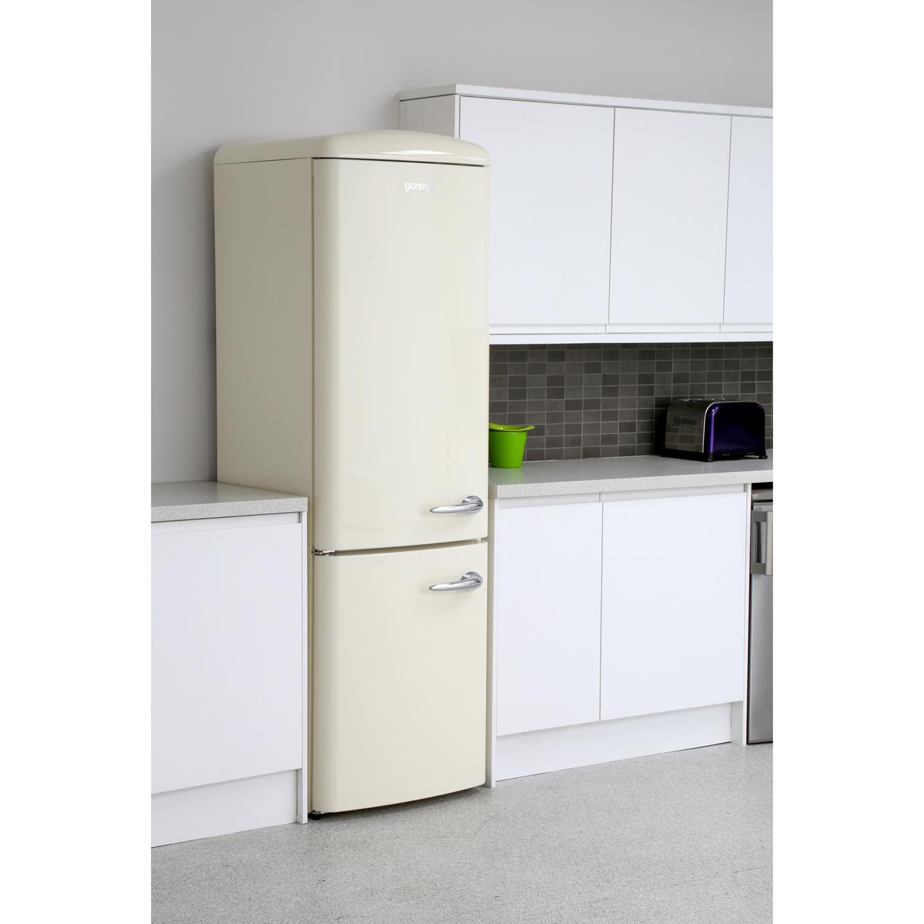 buy gorenje ork193c l retro fridge freezer cream marks. Black Bedroom Furniture Sets. Home Design Ideas