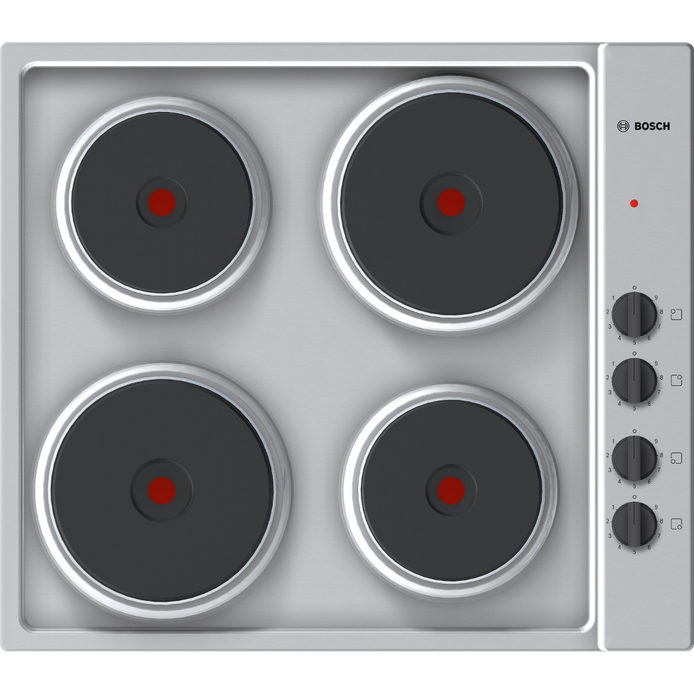 buy bosch pee689ca1 electric hob brushed steel marks electrical