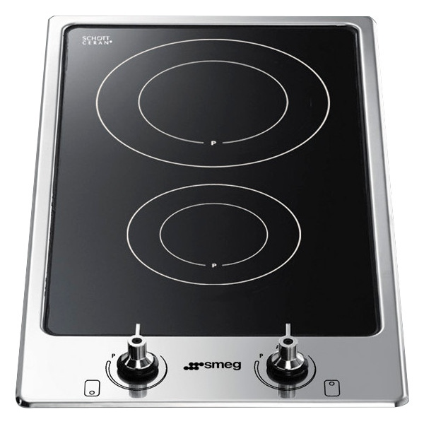 buy smeg pgf32i1 2 zone induction domino hob pgf32i 1 stainless steel marks electrical. Black Bedroom Furniture Sets. Home Design Ideas