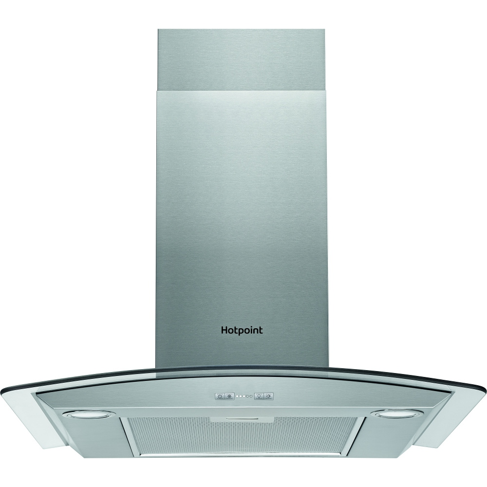 Buy Hotpoint PHGC75FABX 70cm Chimney Hood - Stainless Steel and ...