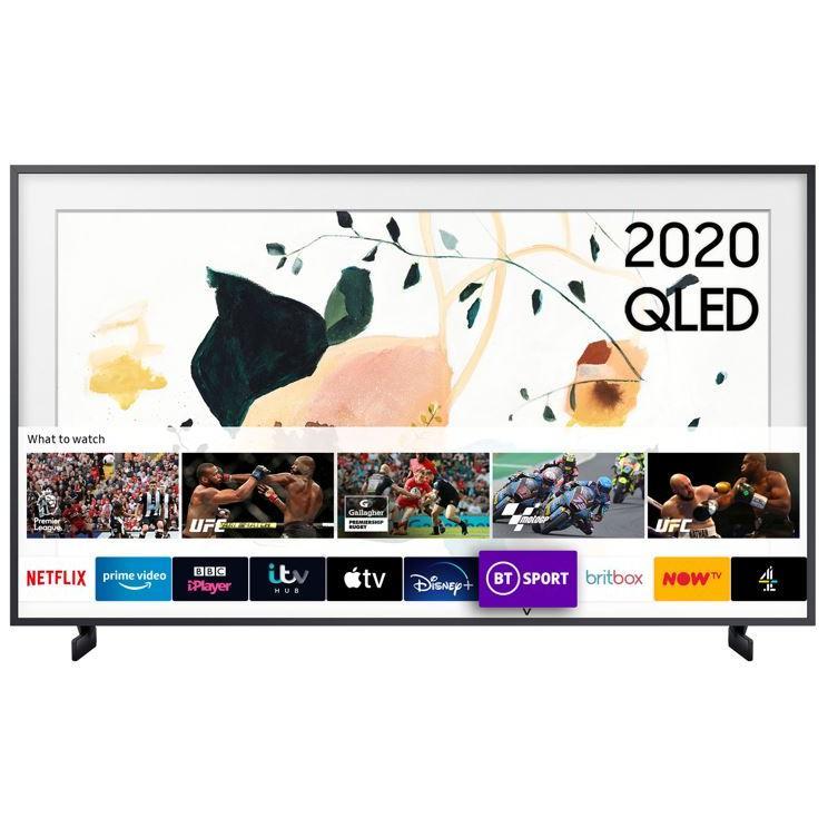"Samsung QE55LS03TAUXXU 55"" Frame Art Mode QLED 4K HDR Smart TV"
