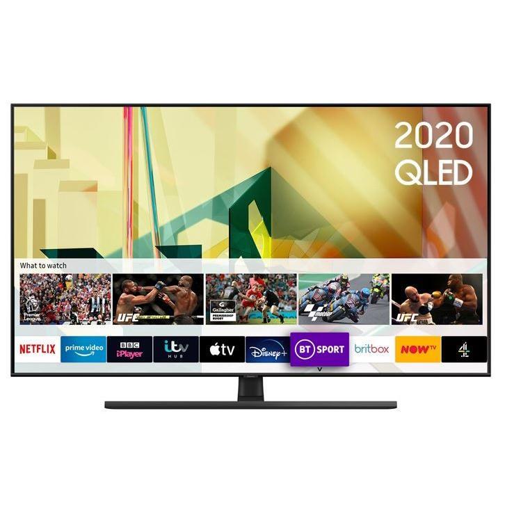 """Samsung Q70T QE55Q70TATXXU 55"""" QLED 4K Smart Television"""