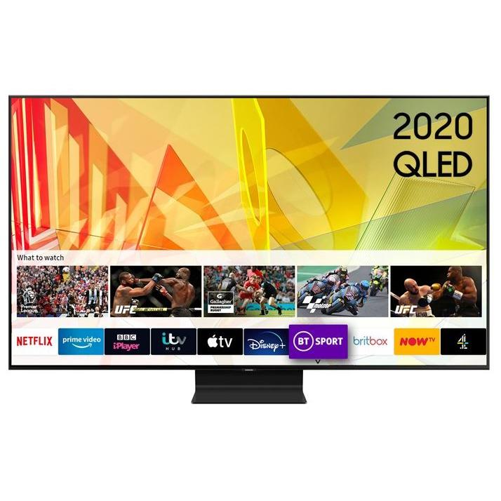 """Samsung Q90T QE75Q90TATXXU 75"""" QLED 4K Smart Television"""