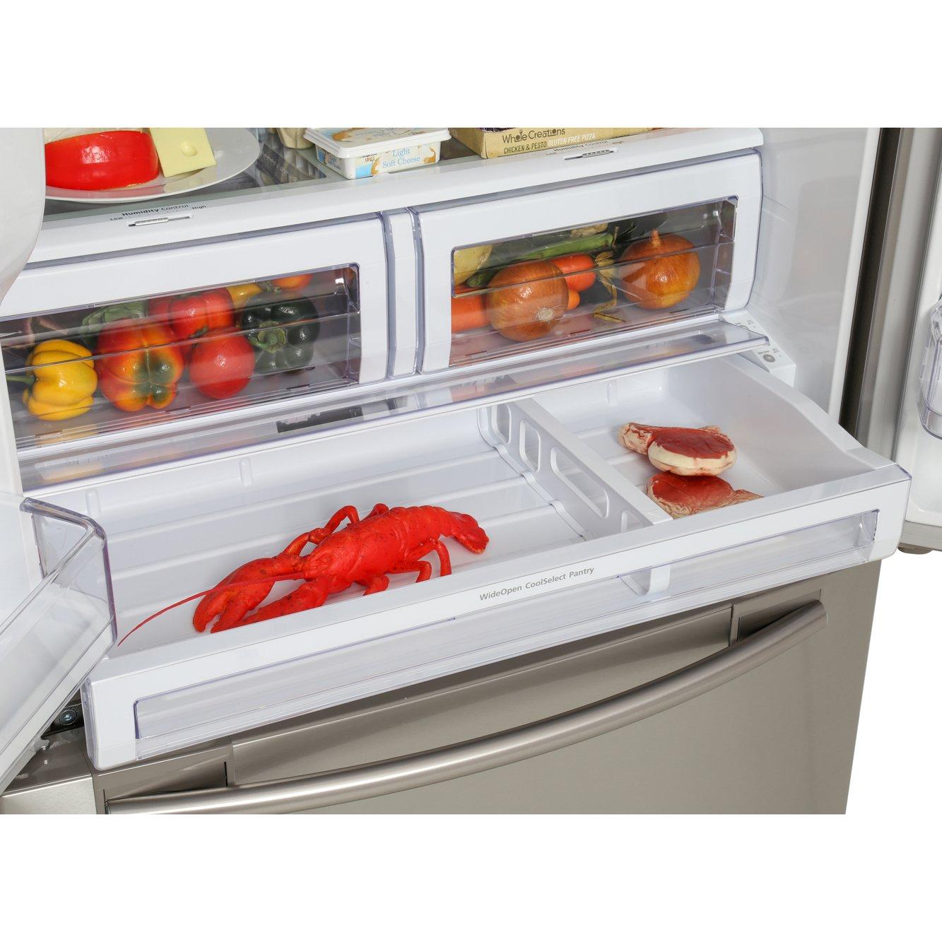 Buy Samsung Rfg23uers Multi Door American Fridge Freezer