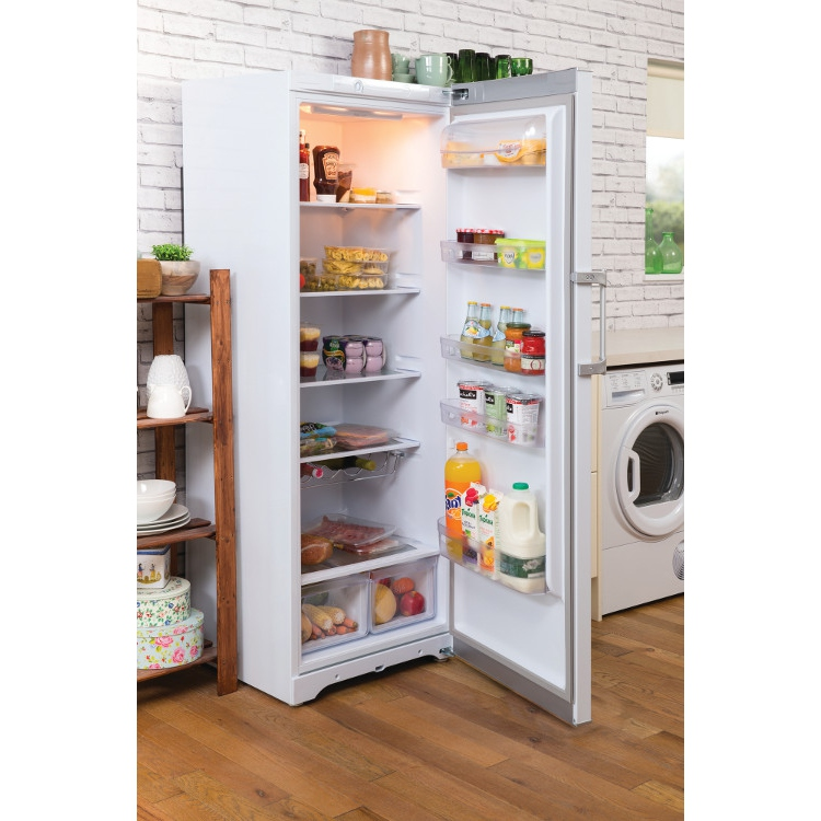 buy hotpoint rlfm171p tall larder fridge white marks electrical. Black Bedroom Furniture Sets. Home Design Ideas