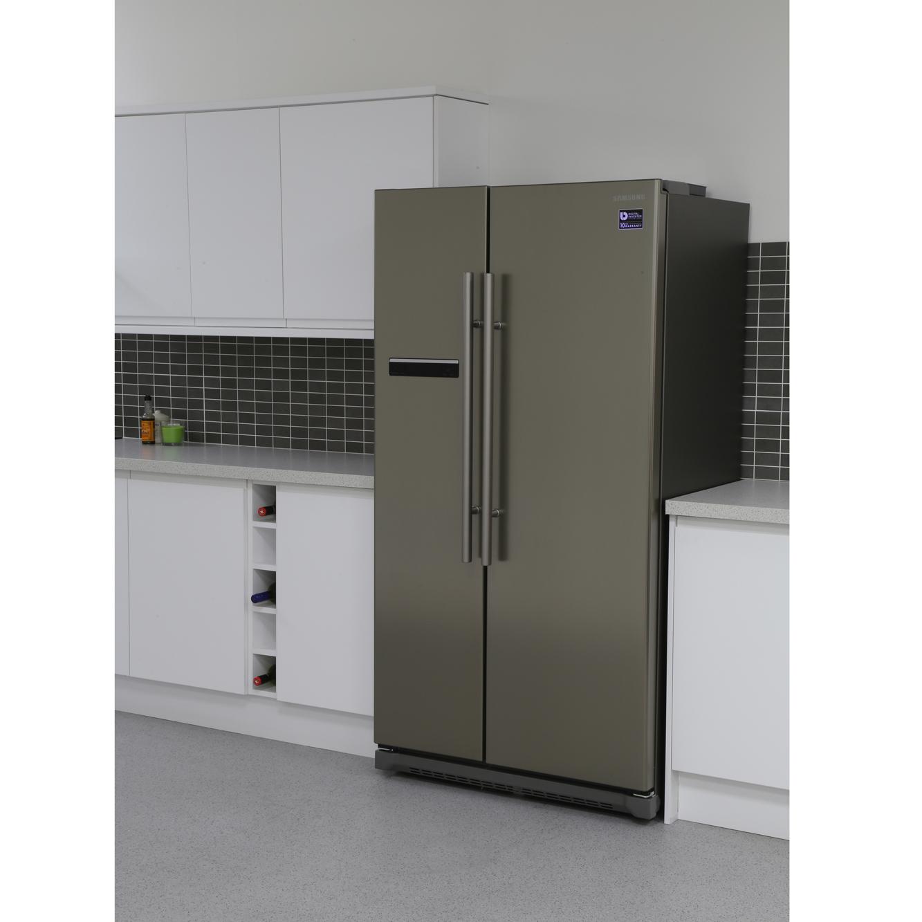 Buy Samsung Rsa1shpn1 American Fridge Freezer Platinum