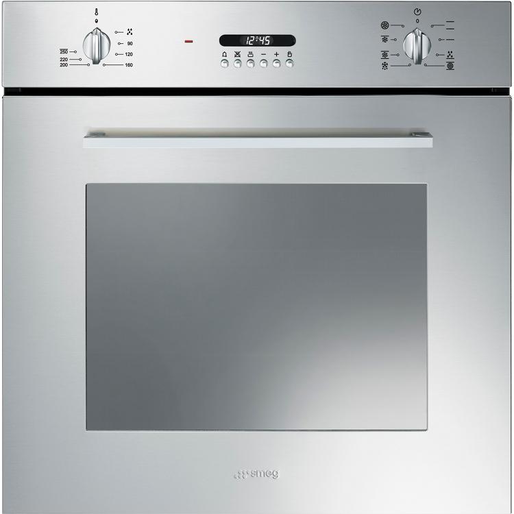 Buy Smeg Cucina SF478X Single Built In Electric Oven (SF478X ...