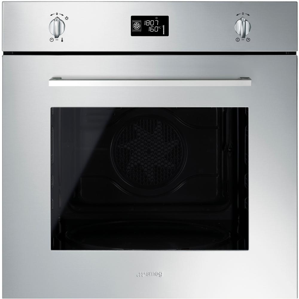 Buy Smeg SFP496XE Cucina Single Built In Electric Oven (SFP496XE ...