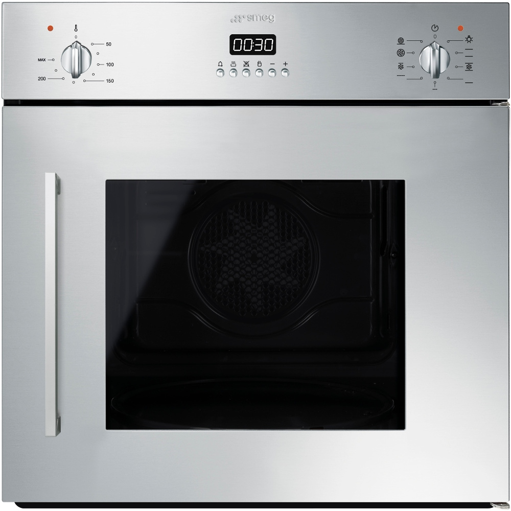Buy Smeg SFS409X Cucina Single Built In Electric Oven (SFS409X ...