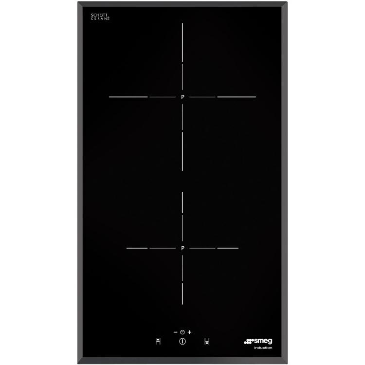 buy smeg si5322b 2 zone induction domino hob frameless marks electrical. Black Bedroom Furniture Sets. Home Design Ideas