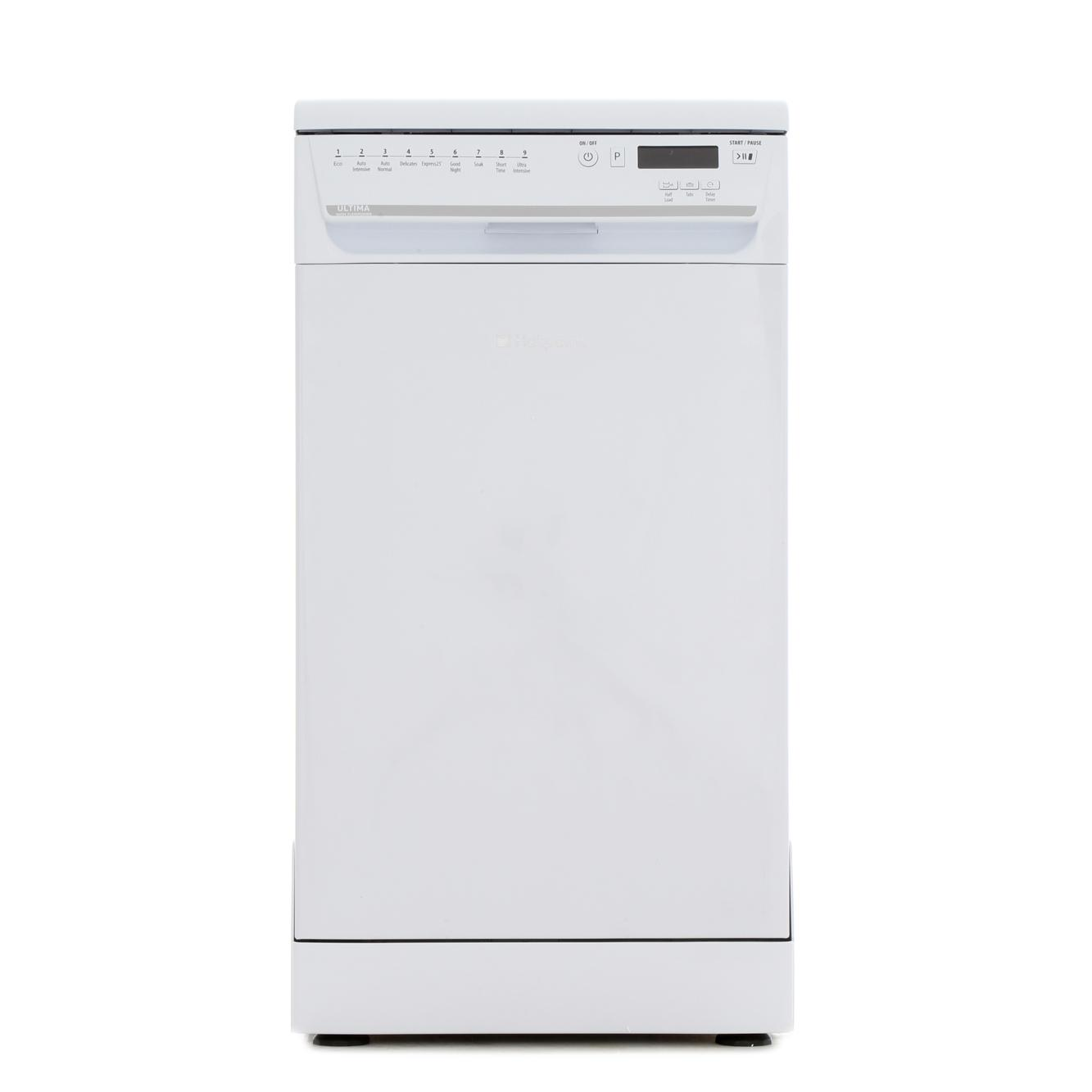 buy hotpoint siuf32120 slimline dishwasher white marks. Black Bedroom Furniture Sets. Home Design Ideas