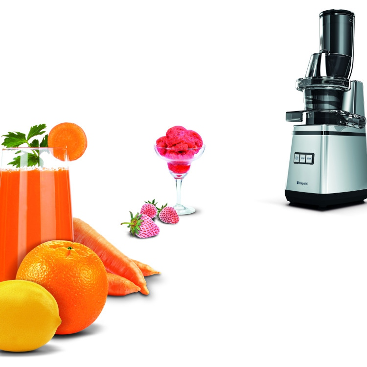 Buy Hotpoint SJ15XLUP0 Juicer - Inox Marks Electrical