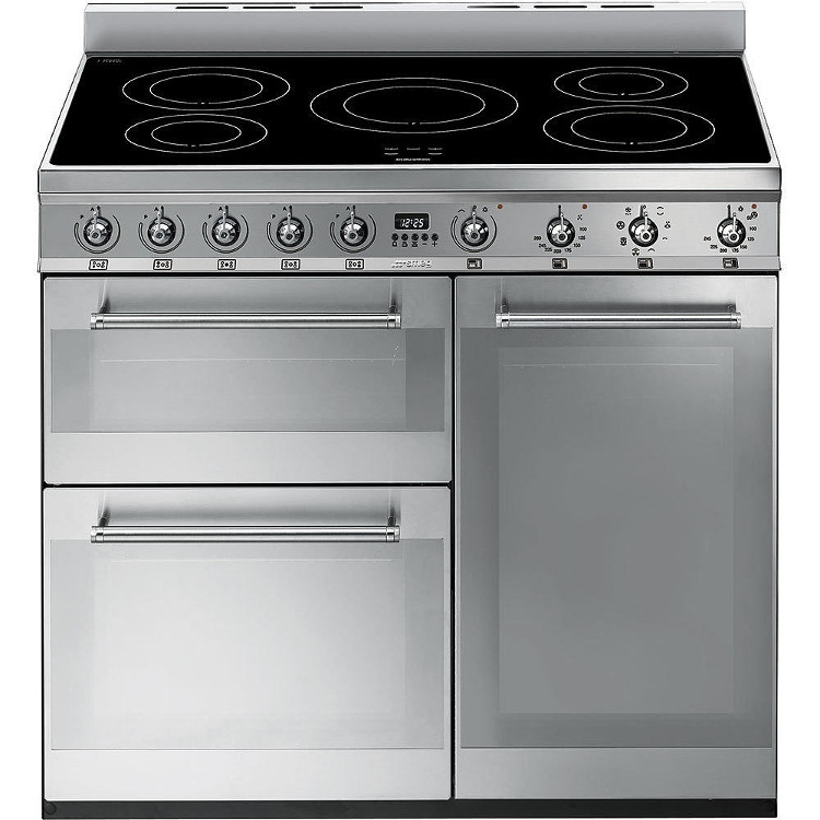Smeg Symphony SY93I 90cm Electric Induction Range Cooker