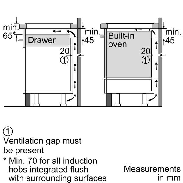 bosch induction hob installation instructions