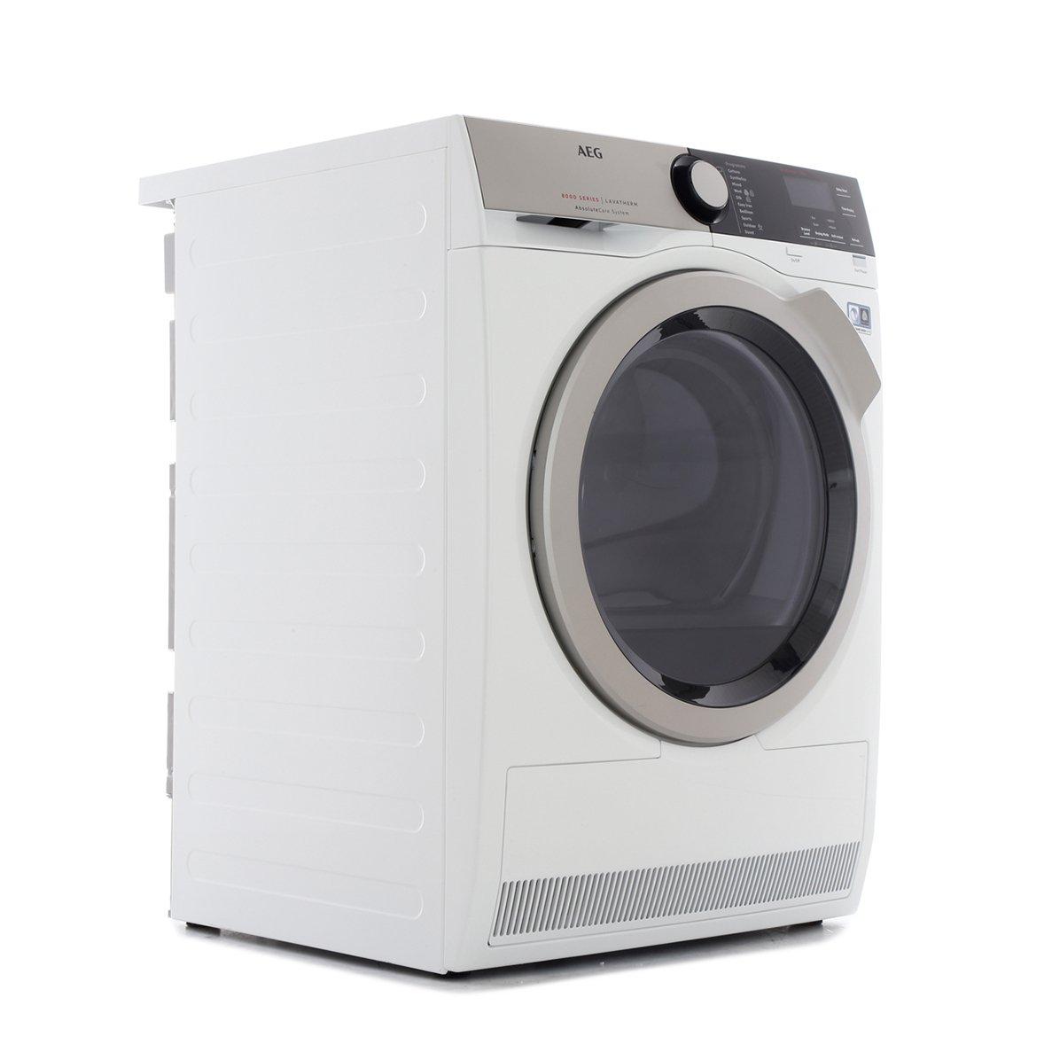 AEG T8DEE845R 8000 Series Condenser Dryer with Heat Pump Technology