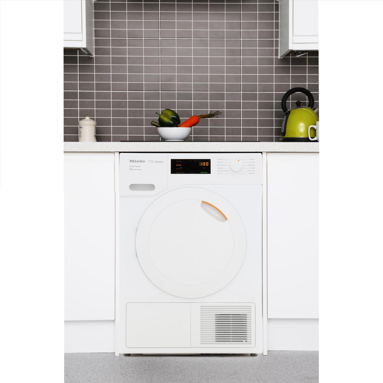 buy miele t1 classic tdd230 white condenser dryer with heat pump technology tdd230white. Black Bedroom Furniture Sets. Home Design Ideas