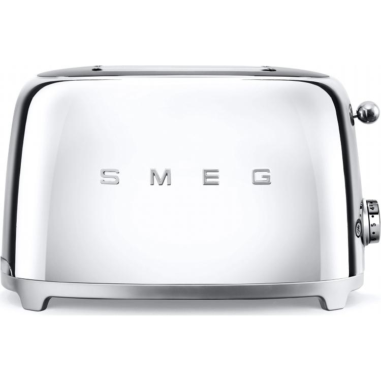 Smeg TSF01SSUK Retro 2 Slice Toaster