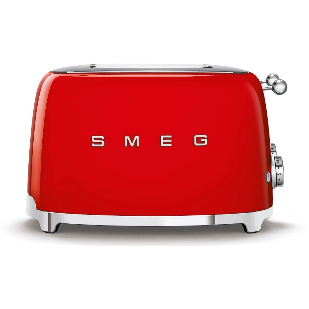 Smeg TSF03RDUK Retro 4 Slice Toaster
