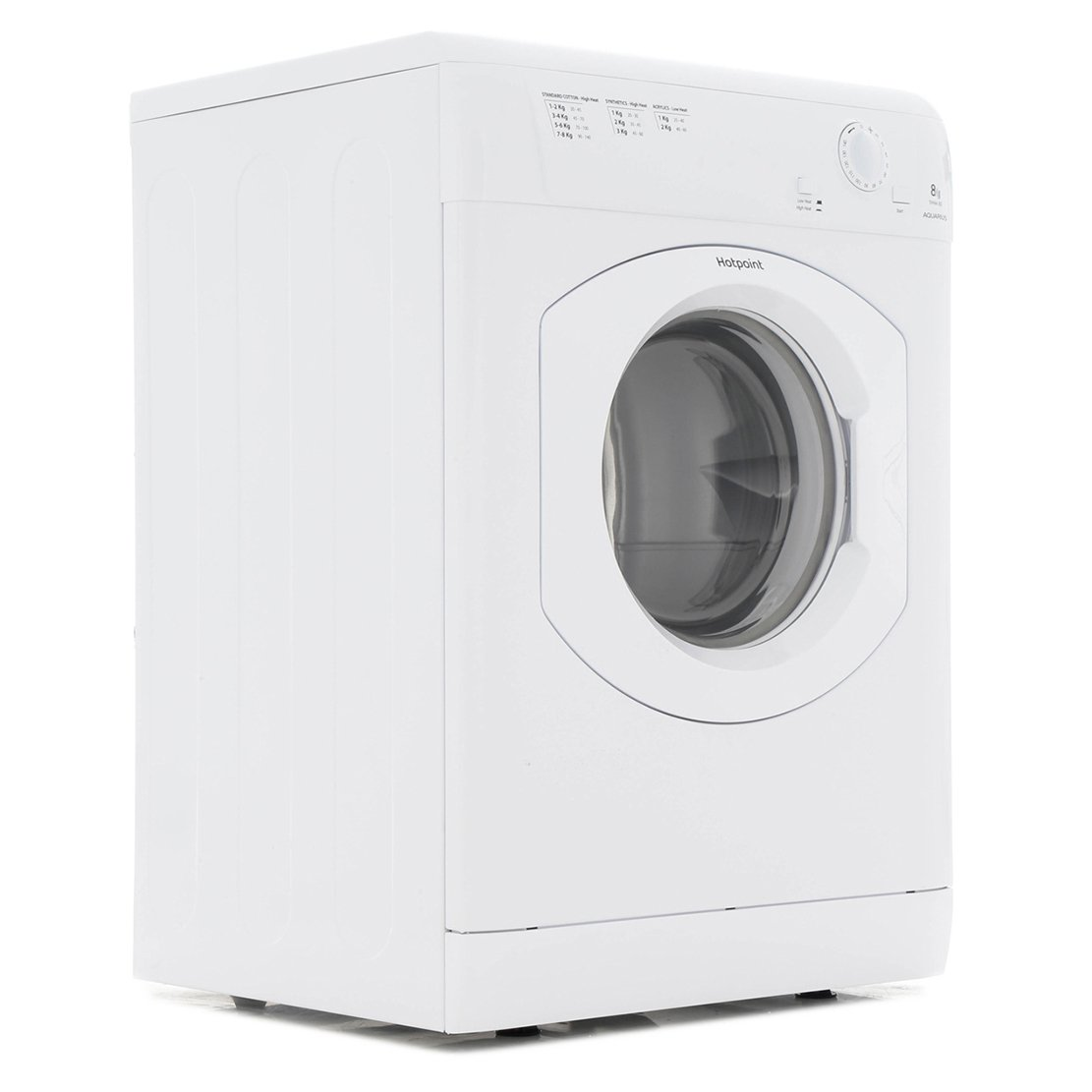Hotpoint TVHM 80C P (UK) Vented Dryer