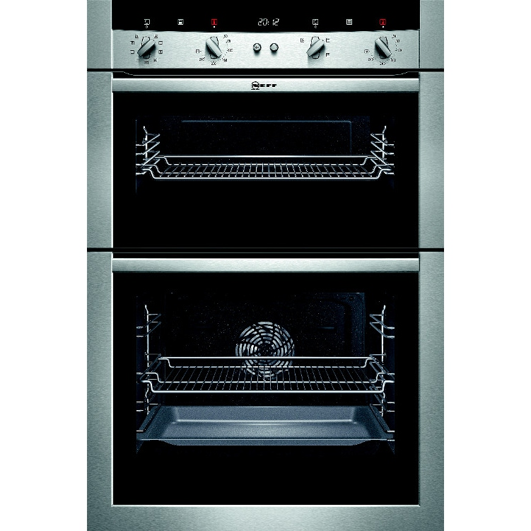 buy neff u15m52n3gb double built in electric oven. Black Bedroom Furniture Sets. Home Design Ideas