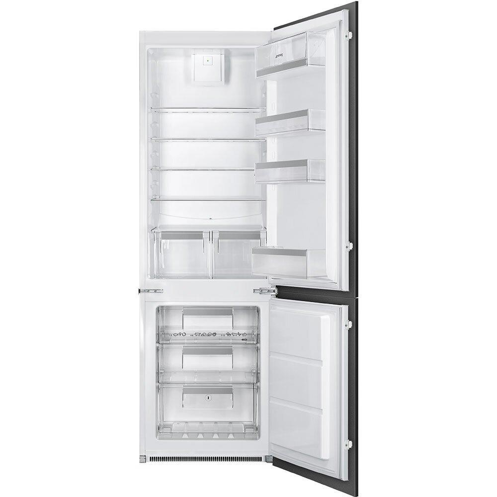 Smeg UKC7280NEP1 Frost Free Integrated Fridge Freezer