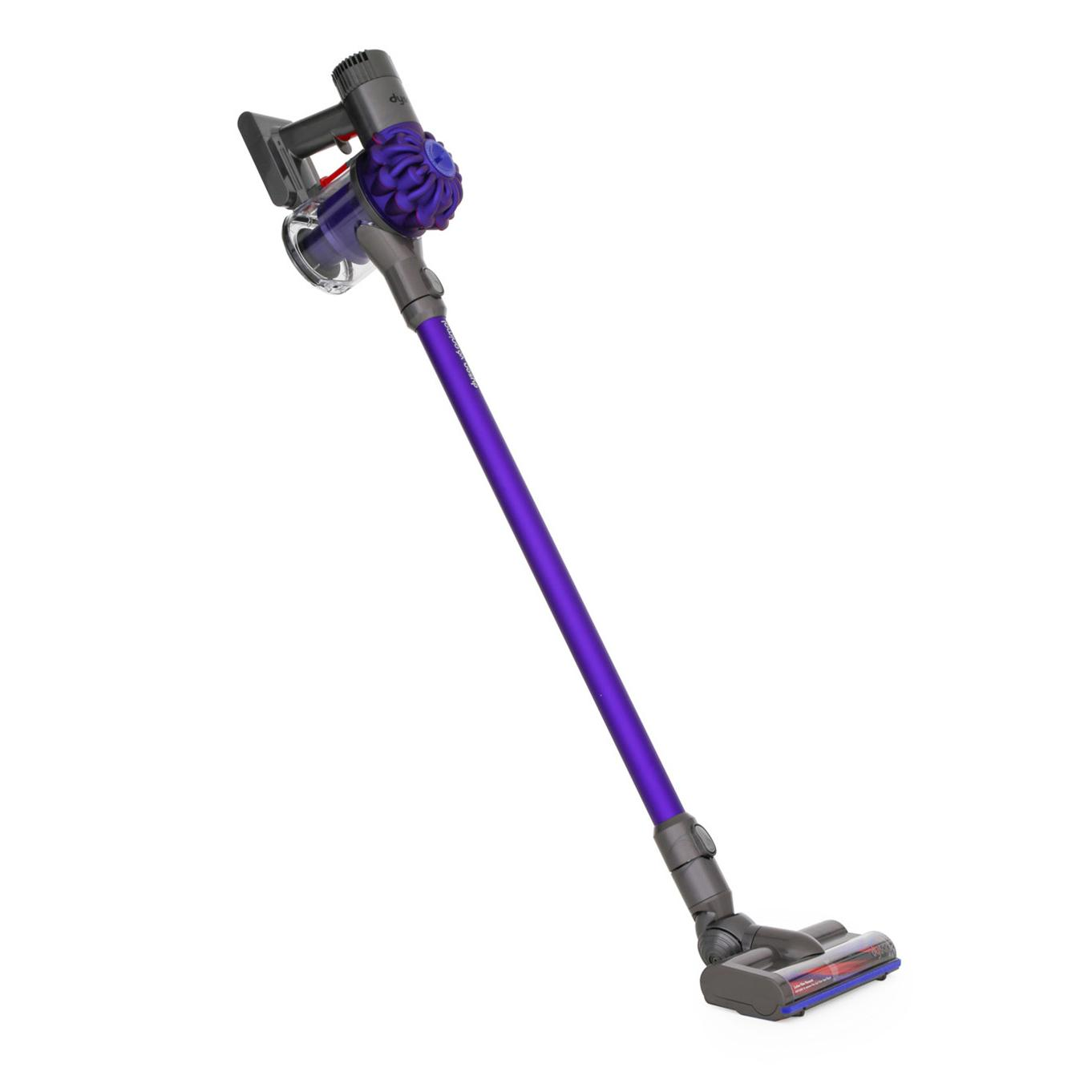 Image of: Purple Dyson V6 Animal Hand Held Vacuum Cleaner discontinued Marks Electrical Buy Dyson V6 Animal Hand Held Vacuum Cleaner v6animal Purple And
