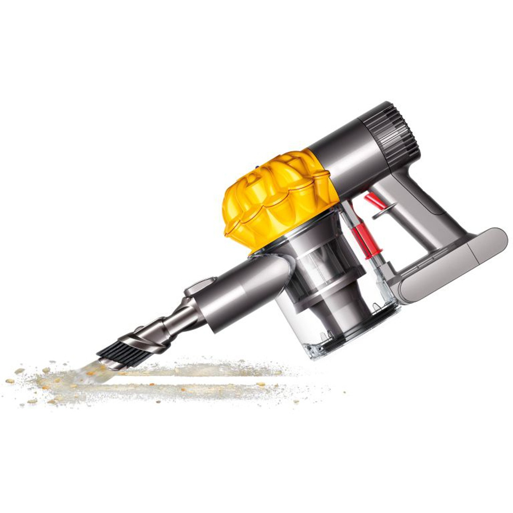 buy dyson v6 trigger hand held vacuum cleaner v6trigger iron moulded yellow marks electrical. Black Bedroom Furniture Sets. Home Design Ideas