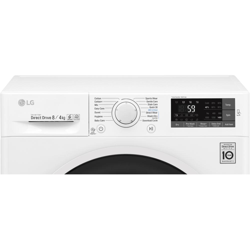 buy lg w5j6am0ww washer dryer white marks electrical. Black Bedroom Furniture Sets. Home Design Ideas