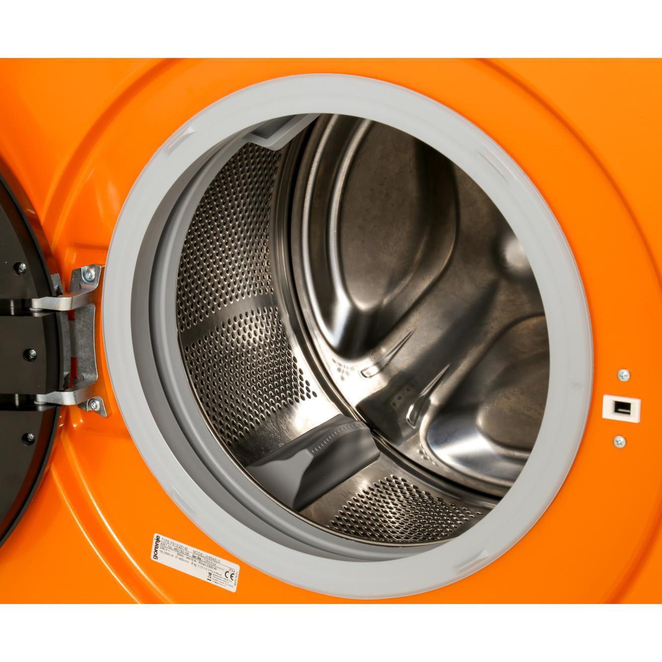 Buy Gorenje W8543lo Washing Machine Juicy Orange Marks