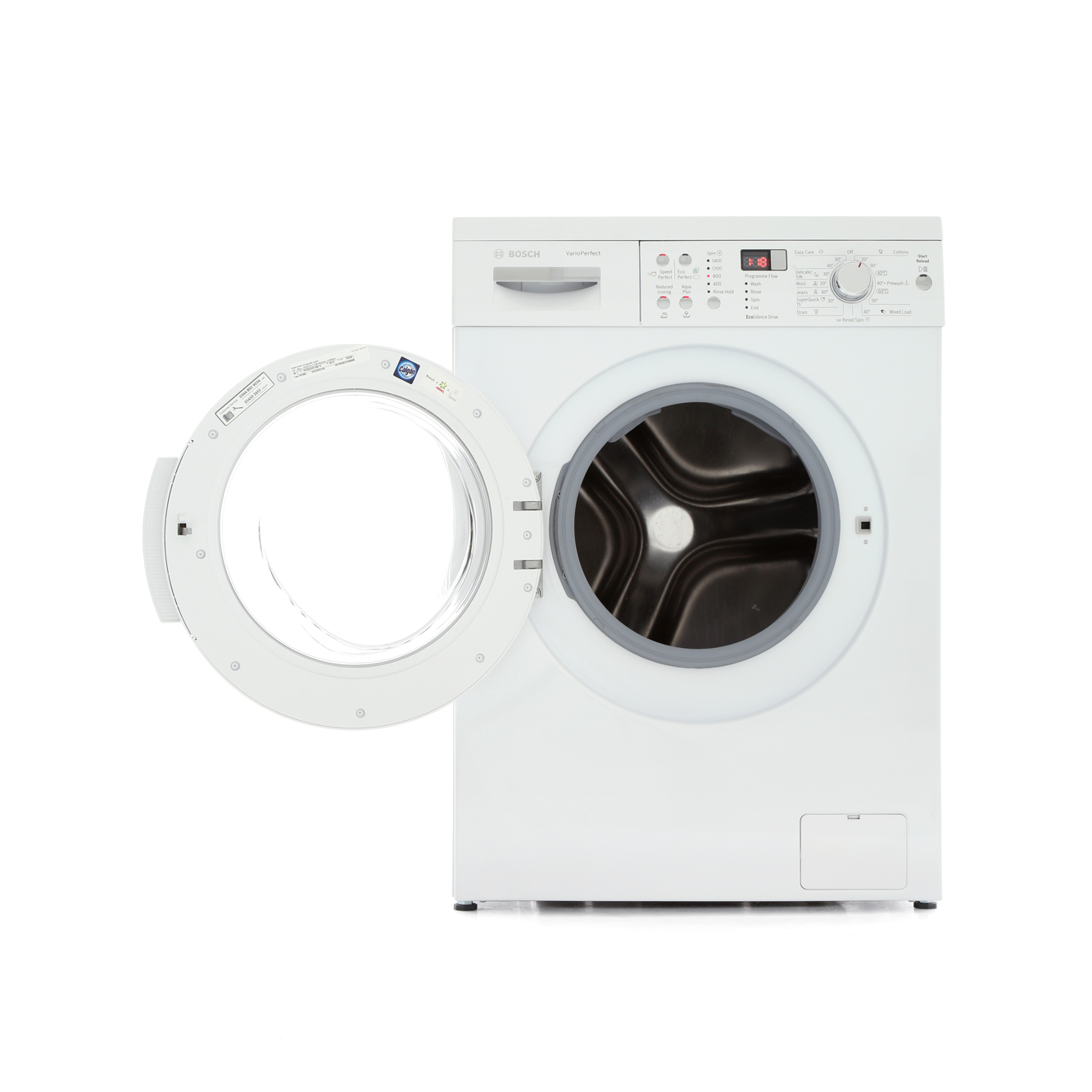 buy bosch series 6 waq283s1gb washing machine waq283s1gb white marks electrical. Black Bedroom Furniture Sets. Home Design Ideas