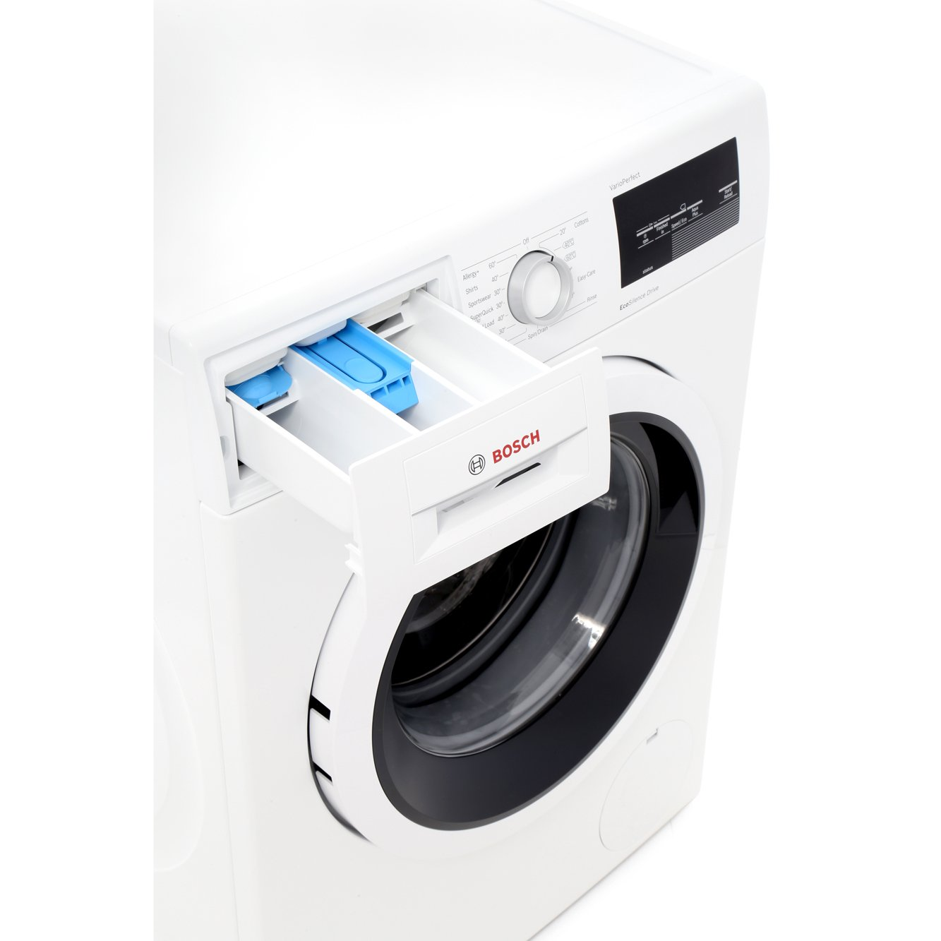 how to work bosch washing machine