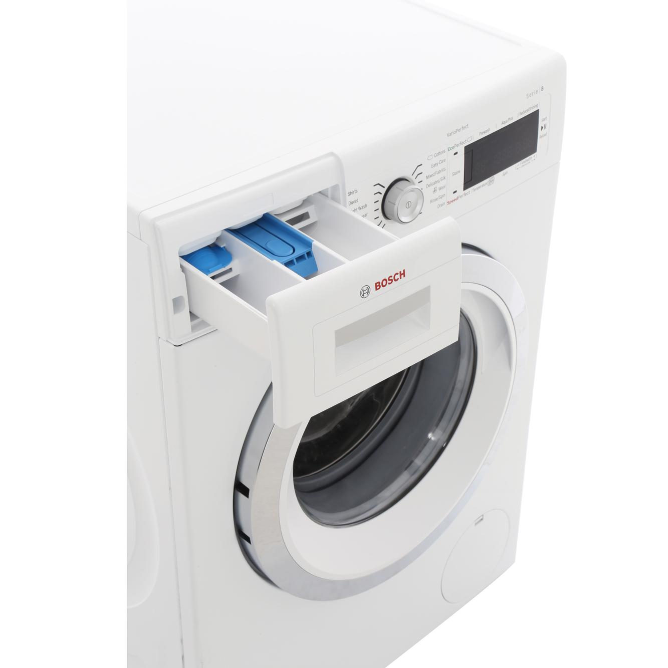 how to use bosch series 8 washing machine