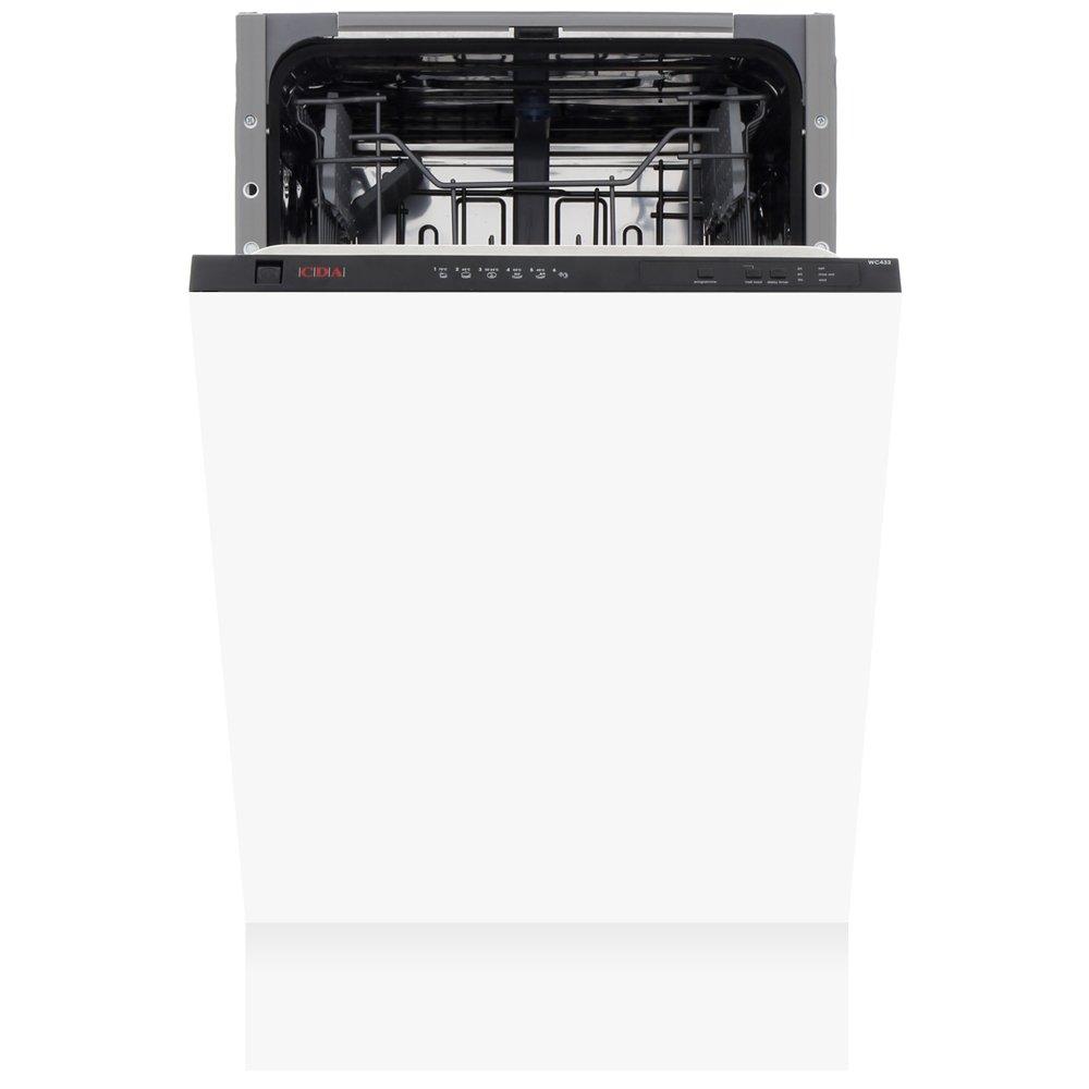 CDA WC432 Built In Fully Int. Slimline Dishwasher