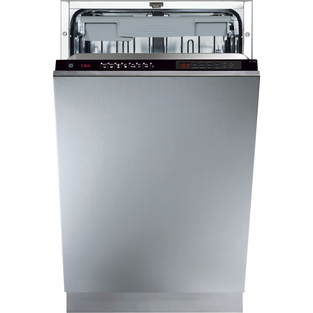 CDA WC480 Built In Fully Int. Slimline Dishwasher