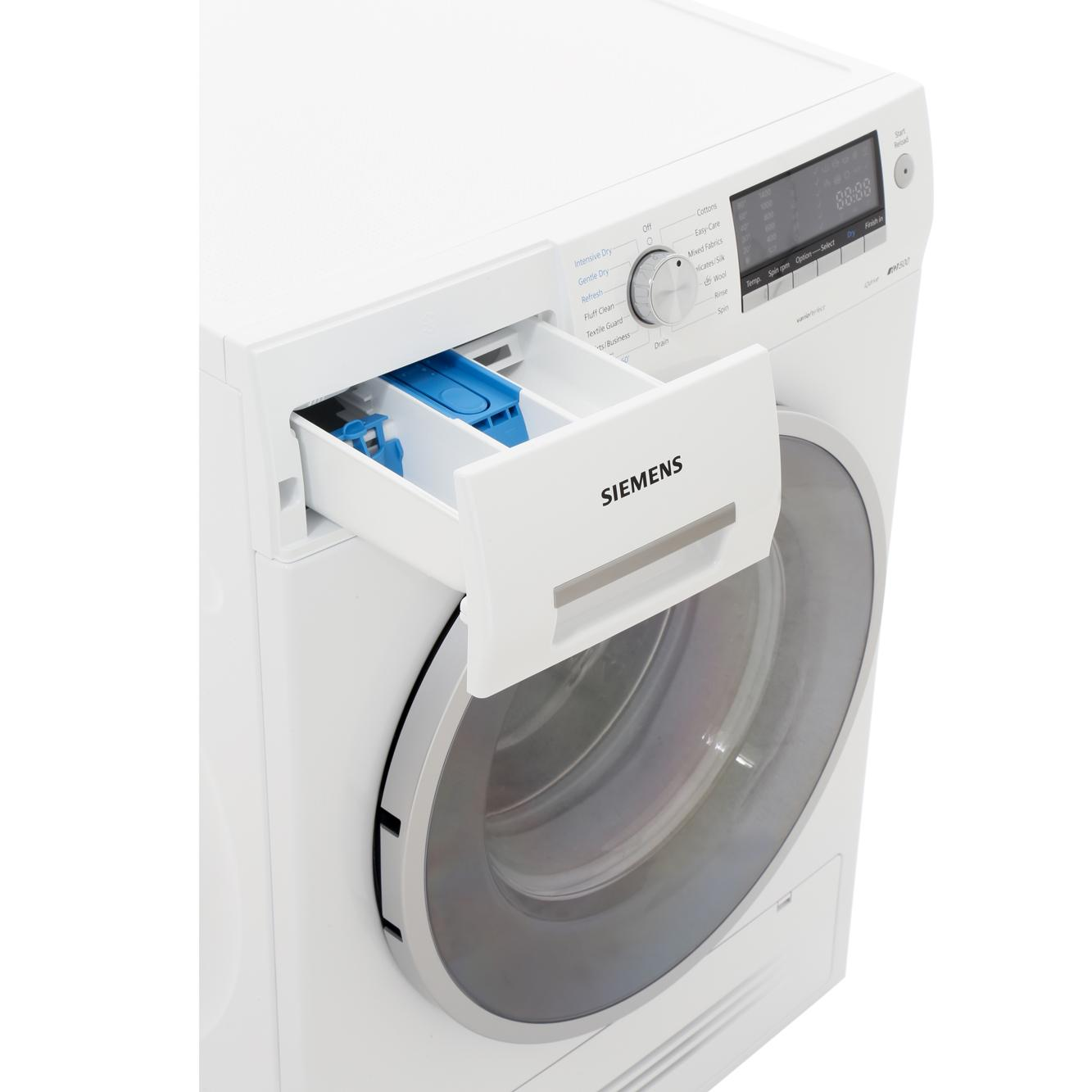 buy siemens wd14h421gb washer dryer white marks electrical. Black Bedroom Furniture Sets. Home Design Ideas