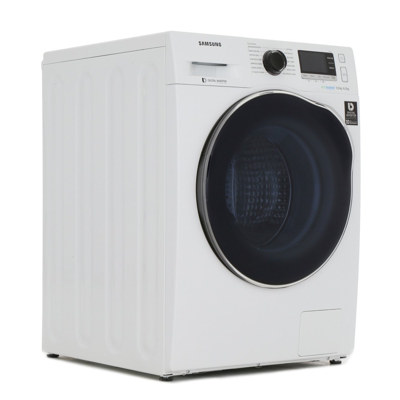 Samsung WD6000 WD90J6A10AW 9Kg  Washer Dryer with Ecobubble Technology