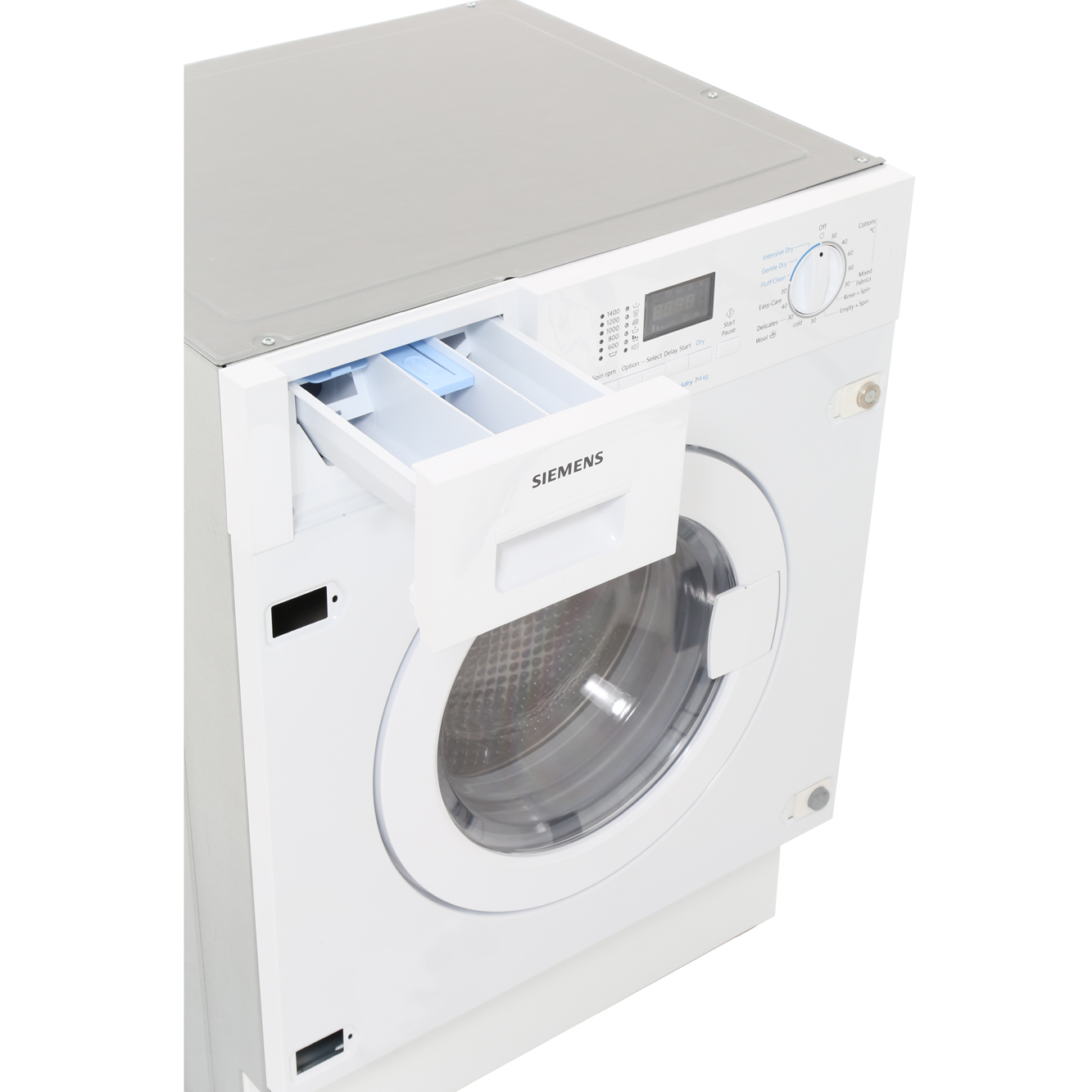 buy siemens wk14d321gb integrated washer dryer white marks electrical. Black Bedroom Furniture Sets. Home Design Ideas