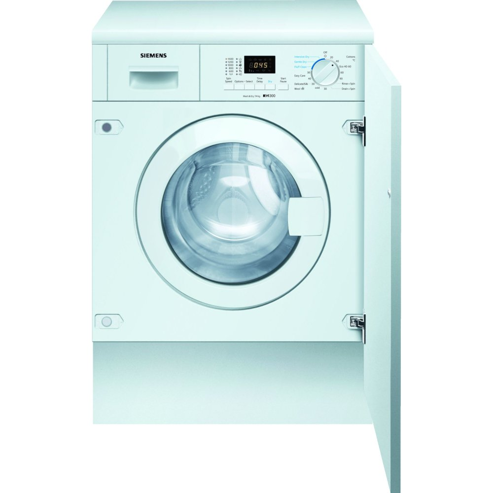 Siemens WK14D322GB Integrated Washer Dryer