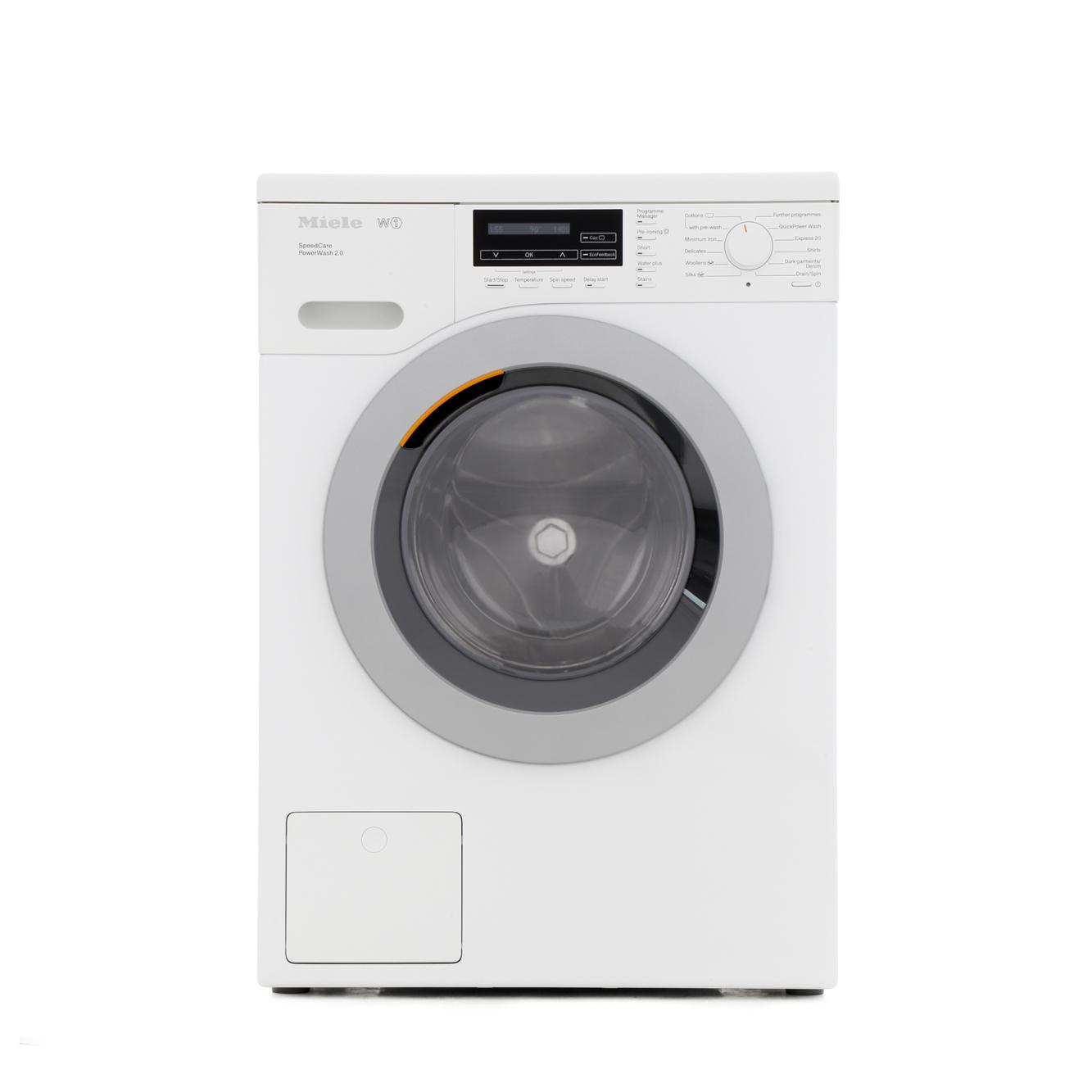 Buy Miele W1 - ChromeEdition WKF301 White Washing Machine ...