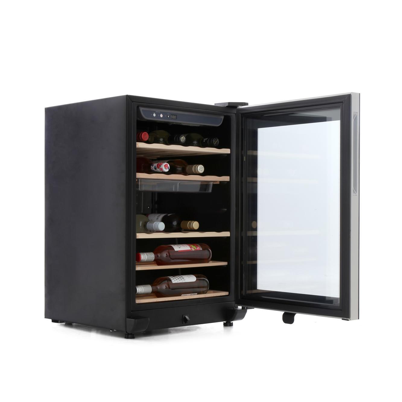 buy haier ws25ga wine cooler black marks electrical. Black Bedroom Furniture Sets. Home Design Ideas