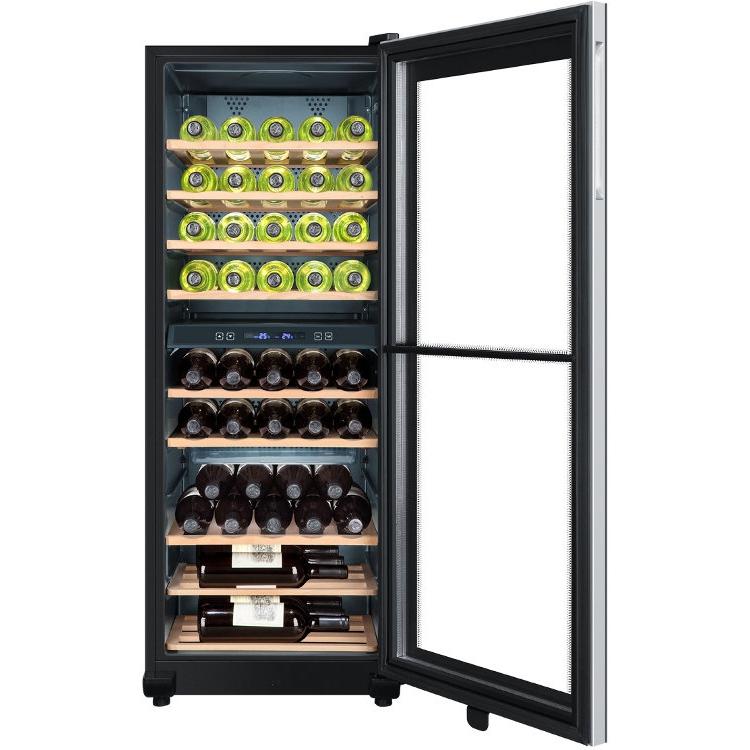 buy haier ws49gdb wine cooler black marks electrical. Black Bedroom Furniture Sets. Home Design Ideas