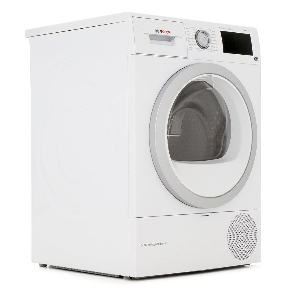 Bosch Serie 6 WTWH7660GB Condenser Dryer with Heat Pump Technology